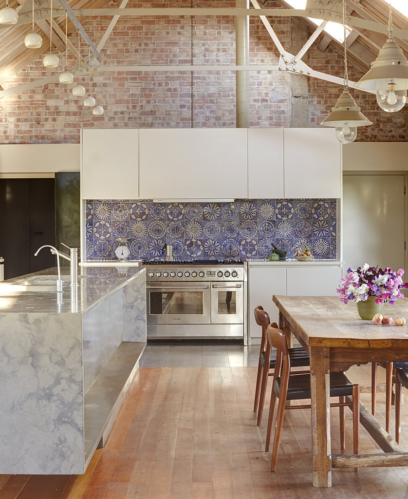 Dairy Conversion - Arch: Woollacott Gilmartin. Courtesy Elle Decor US
