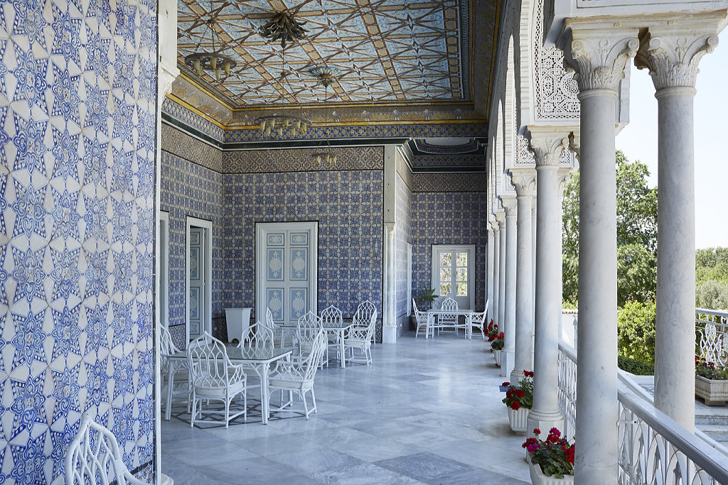 The British Embassy Tunis - 'British Embassies' by James Stourton - Courtesy Frances Lincoln