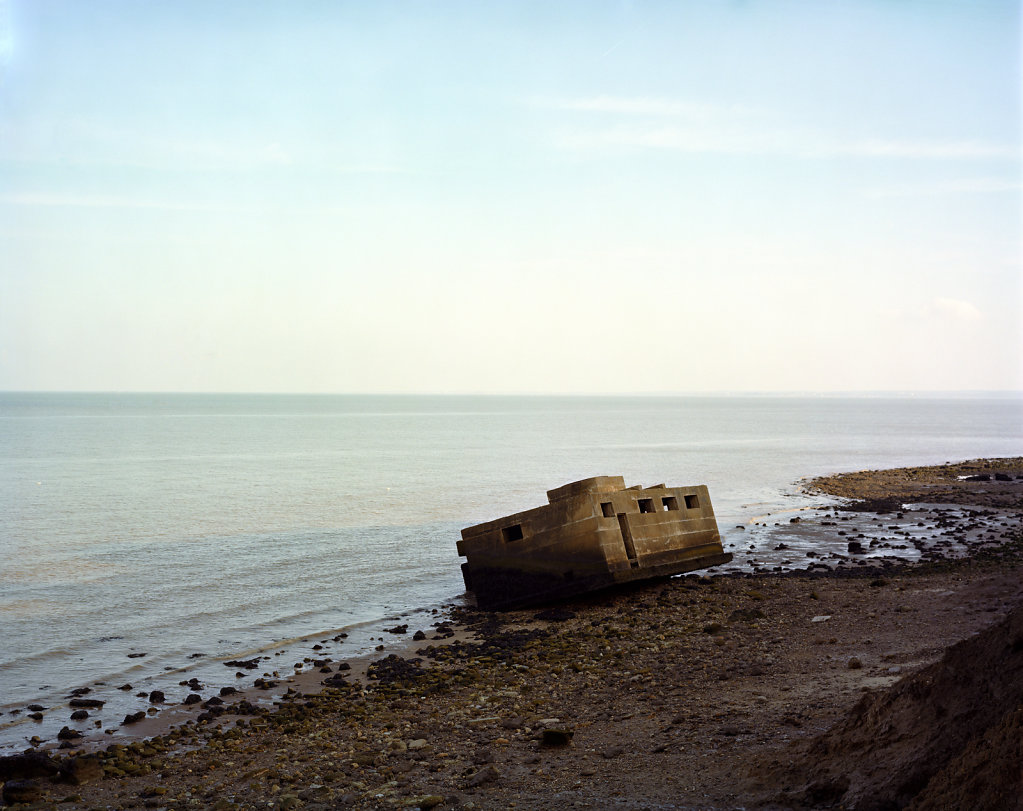 Liminal III - Warden Point, Isle of Sheppey, C-Type Hand Printed 40 x 31in / 102 x 79 cm (Edition of 30)